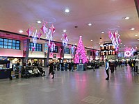 Central Station is a major inter-city and commuter rail hub for the city.