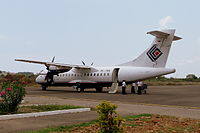 PK-YRN, the aircraft involved, in 2008
