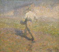 The Sower (1907), by the Impressionist painter Ivan Grohar, became a metaphor for Slovenes and was a reflection of the transition from a rural to an urban culture.
