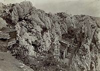 The Battles of the Isonzo took place mostly in rugged mountainous areas above the Soča River.