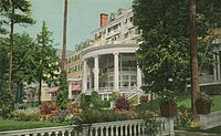 Hotel Aspinwall in 1912, now the site of Kennedy Park