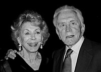 Anne Buydens and Douglas at the 2003 Jefferson Awards for Public Service ceremony