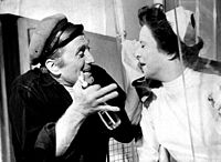 With Joan Tetzel in the 1963 Broadway play One Flew Over the Cuckoo's Nest
