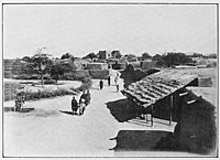 Abéché, capital of Wadai, in 1918 after the French had taken over