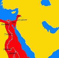 Nubian Empire at its greatest extent