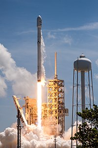 The launch of BulgariaSat-1 by SpaceX