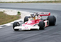 Hunt at the 1976 Race of Champions