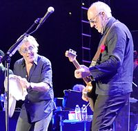 Daltrey and Townshend on the Who Hits 50! tour in 2016