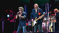 The Who performing at Desert Trip in October 2016