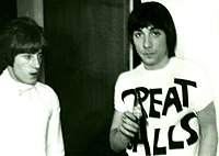 Roger Daltrey (left) and Keith Moon, 1967