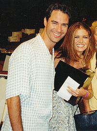 Eric McCormack and Debra Messing in 1999