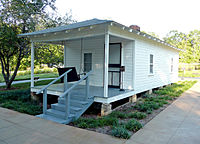 Presley's birthplace in Tupelo, Mississippi