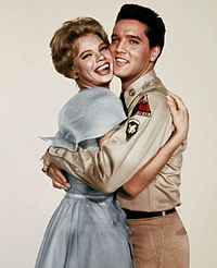 Presley with Juliet Prowse in G.I. Blues
