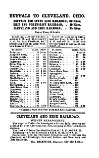 Cleveland, Painesville and Ashtabula Railroad (1848–1869)