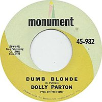 Dumb Blonde (Dolly Parton song)