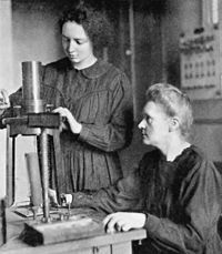 Irène and Marie Curie in 1925