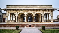The Diwan-i-Khas is where the Emperor would attend to state affairs.