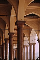 The current Diwan-i-Aam is a reconstruction undertaken during the British era.