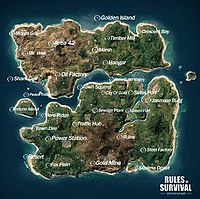 Fearless Fiord game map