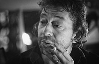 Serge Gainsbourg, one of the world's most influential popular musicians