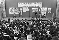 The May 68 protests, a massive social movement, would ultimately led to many social changes, such as the right to abortion, women empowerment as well as the decriminalisation of homosexuality.