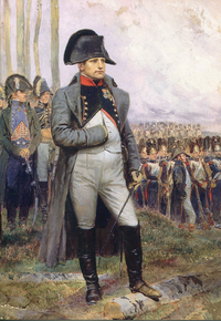 Napoleon, Emperor of the French, helped by his Grande Armée, built a vast empire across Europe. His conquests spread the French revolutionary ideals across much of the continent, such as popular sovereignty, equality before the law, republicanism and administrative reorganisation while his legal reforms had a major impact worldwide. Nationalism, especially in Germany, emerged in reaction against him.