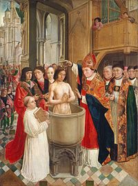 With Clovis's conversion to Catholicism in 498, the Frankish monarchy, elective and secular until then, became hereditary and of divine right.