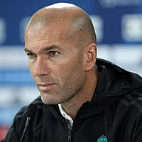 Zinedine Zidane was named the best European footballer of the past 50 years in a 2004 UEFA poll.