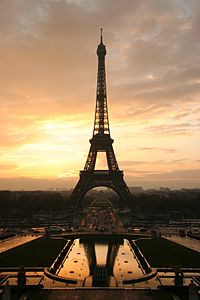 The Eiffel Tower is the world's most visited paid monument, an icon of both Paris and France.