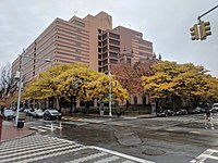 Social Security Administration building at 153rd Street and Jamaica Avenue