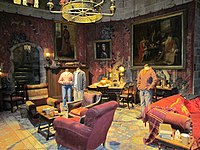 The Gryffindor Common Room was introduced in the first film