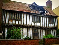 The Potters' Cottage from the final film