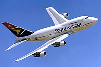 The 48 ft shorter 747SP, with four main deck doors down from five