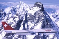 The, with its stretched upper deck, was first delivered to Swissair on March 23, 1983