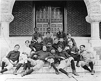 A team from the Indiana Soldiers' and Sailors' Children's Home, 1896.