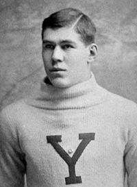 Pudge Heffelfinger, widely regarded as the first professional football player