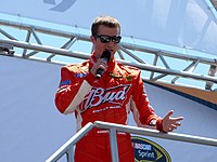 Kasey Kahne scored the pole position for the second time at Infineon Raceway.