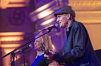 Kim and James Taylor in 2020