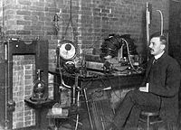 Ernest Rutherford at McGill University, Montreal 1905