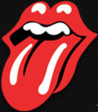 The Rolling Stones' logo, designed by John Pasche and modified by Craig Braun, was introduced in 1971.