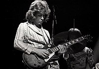 Mick Taylor is, in part, responsible for the Stones' new sound in the early 1970s. Replacing Brian Jones in 1969, Taylor's onstage debut with the band was in Hyde Park, London on 5 July 1969, two days after Jones' death.