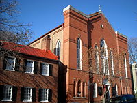 Mount Zion United Methodist Church is the oldest African-American congregation in Washington, D.C.