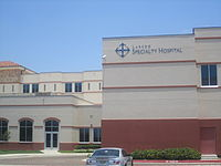 Laredo Specialty Hospital, near the Laredo Medical Center, handles certain patients requiring long-term care.