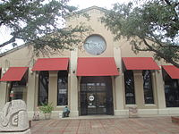 Laredo Center for the Arts in the downtown square