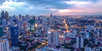 Phnom Penh, the capital and largest city of Cambodia.