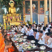 """Pchum Ben, also known as """"Ancestors Day"""", is an important religious festival celebrated by Khmer Buddhists."""