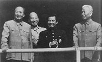 Norodom Sihanouk and Mao Zedong in 1956