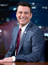 Kimmel during a Jimmy Kimmel Live! video taping at Hollywood Masonic Temple on March 12, 2015