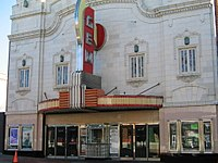 The historic Gem Theatre, located in Kansas City's renowned 18th and Vine Jazz District