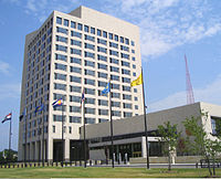 The Federal Reserve Bank of Kansas City services the western portion of Missouri, as well as all of Kansas, Oklahoma, Nebraska, Wyoming, Colorado, and northern New Mexico.